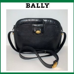 Bally Lux Leather Crossbody Bag